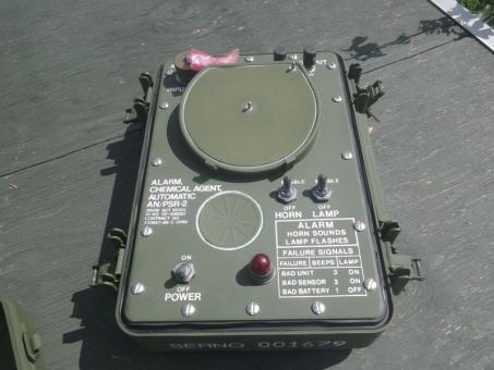 ABC Alarmgerät AN/PSR-2  US ARMY