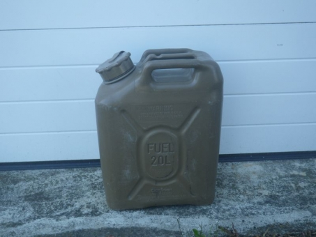 US Kraftstoffkanister 20 Liter Kunststoff