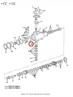 Nadellager Lenkgetriebe HMMWV