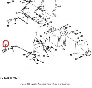 Seilzug Luftverteilung Heizung HMMWV M998