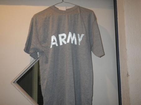 ARMY T-Shirt, grau / IPFU  T-Shirt,