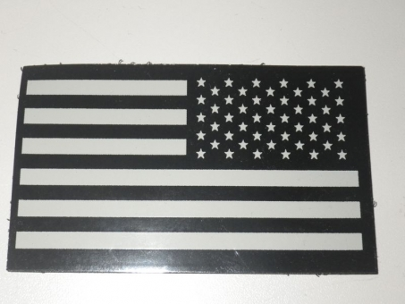 IR Flag Patch, Infrarot Flagge US, Reversed US ARMY