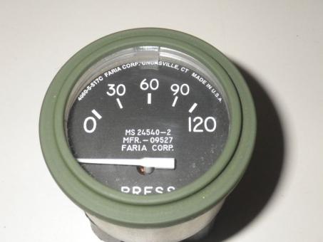 Öldruckanzeige 0-120psi  M35, M900, M800, M561,