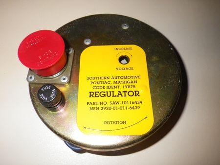 Regler Lichtmaschine Stromerzeuger US ARMY