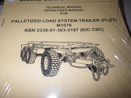 Technical Manual Anhänger M1076