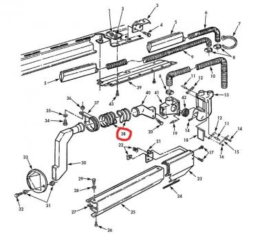 Heizungsschlauch M1114 HMMWV