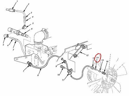 Schneidring Air Line Fan Clutch M35A3