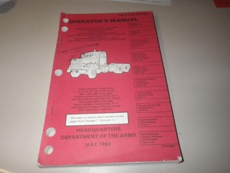 Operators Manual M915, M916, M917, M920