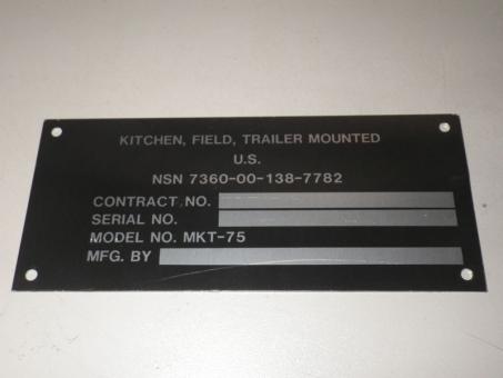 Dataplate MKT-75 Mobile Kitchen Trailer  US