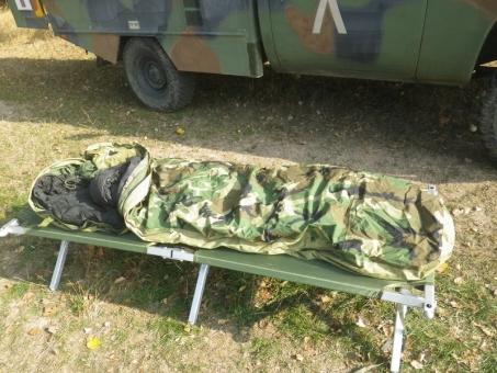 Modular Sleeping Bag System MSS, Goretex, Woodland US ARMY