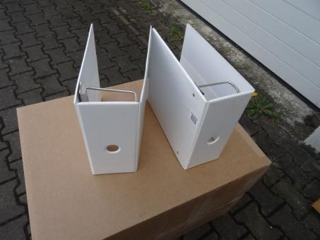Ringbinder US Format (2 Stück) Dreilochsystem US