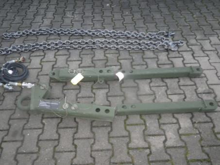 Abschleppstange US ARMY Oskosh Tow Bar Set 37 tonnen