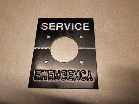 Plate Service / Emergency  Druckluftbremse M-Serie Trucks