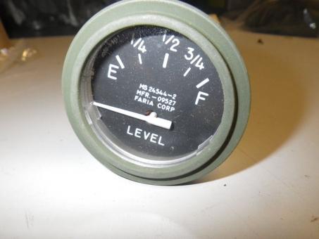 Tankanzeige 24 Volt M-Serie  US ARMY