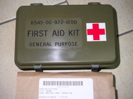 Verbandskasten US ARMY, US Fahrzeuge