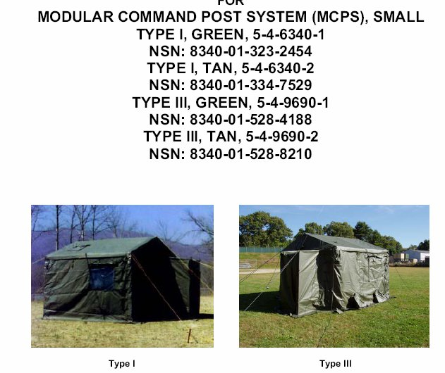 us army sale modular command post zelt mcps us army online kaufen. Black Bedroom Furniture Sets. Home Design Ideas